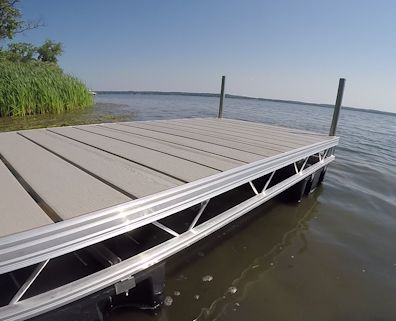 Floating Aluminum Truss Dock