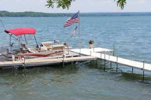 Boat Dock Design Ideas boathouse on floating docks The Dock Many Modern Residential Docks Are Made Of Lightweight Aluminum And With Slick Removable Deck Insert Designs They Are Lightweight By Intent As To